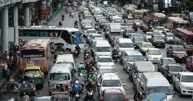 Pattaya Roads All thru the Lockdown