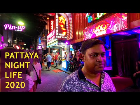 Pattaya Nightlife | Pattaya Strolling Avenue | Pattaya Thailand Vlog | 2020