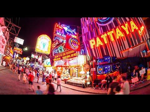 PATTAYA Walking Avenue at Evening | Thailand