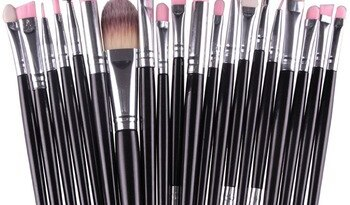 Профессиональный набор кистей для макияжа bgvfive20шт, пудра, основа для макияжа, тени для век, подводка для глаз, кисть для губ, многоцветные кисти