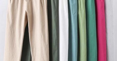 Штаны на шнурках женские, летние, хлопковые, льняные штаны-шаровары, повседневные, большого размера, C5212