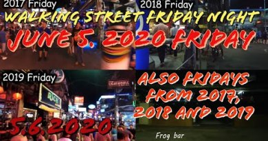 Pattaya Strolling Twin carriageway Fifth Of June 2020 And 2017 2018 2019 Thailand
