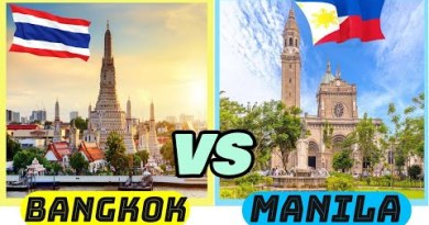 Bangkok vs Manila | Thailand vs Philippines (Two essential cities in Asean)