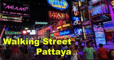 Walking Street Pattaya, Thailand – Nightlife Pattaya – Sea lope motorway – Club, Red Light Field, Scams