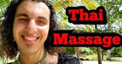 KOH PHANGAN THAI MASSAGE EXPLAINED | Trek Vlog | Digital Nomad | Relaxation
