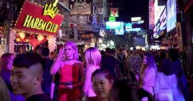 Thailand. Pattaya strolling boulevard LIFE
