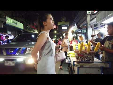 Walking Street Pattaya Scenes – Taken gentle before shut down