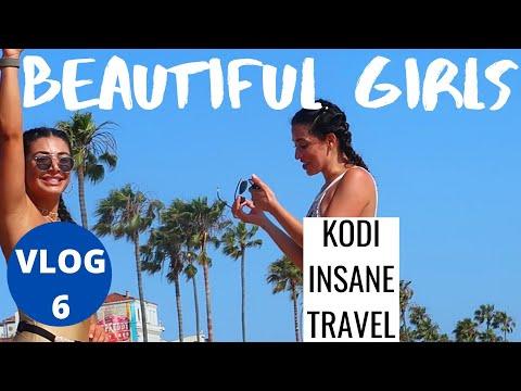 BEAUTIFUL GIRLS | CAMBODIA NIGHTLIFE. VS. SANTA MONICA BEACH.VS. PATTAYA WALKING STREET