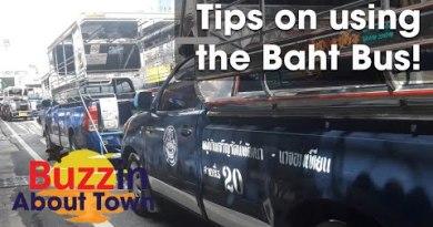Baht Bus Pattaya Thailand – 2d Avenue Route