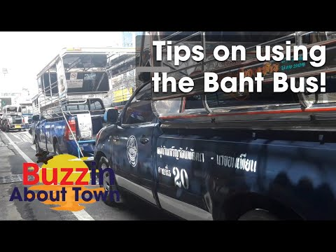 Baht Bus Pattaya Thailand – 2d Avenue Route