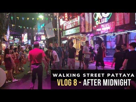 Pattaya Strolling Avenue at Night time 2019 Vlog 8