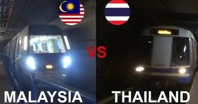 MALAYSIA VS THAILAND – RAIL TRANSPORT (MRT / LRT/ Trains…)