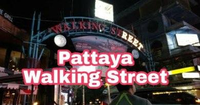 Strolling Road Pattaya 2018