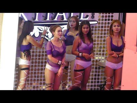 Night tour of PATTAYA BANGKOK THAILAND Paunchy Of Though-provoking Women