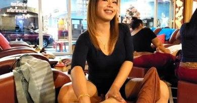 "$6 THAI FOOT MASSAGE by ""Flim"" 🇹🇭 Pattaya Thailand (90% NO TALKING ASMR)"