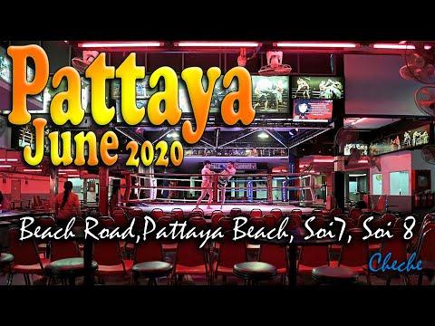JUNE – Pattaya Thailand 2020 Soi 7 Soi 8 Pattaya   Pattaya Seaside Road   pattaya 2020 thailand vlog