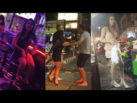 Assorted Kinds Of Thailand Hookers In Dawdle. 02