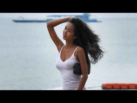 Pattaya Seaside slither in June. Thailand Scenes, 2020