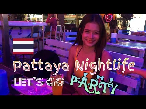[4K-Pattaya] NightLife ! relaxing ! So noteworthy ThaiGirl ! Strolling avenue