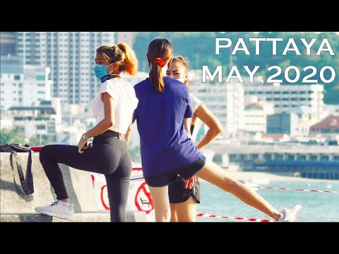 Pattaya Daylight hours, Beach Avenue. Thailand, Vlog#30