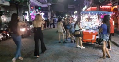 Pattaya strolling road reopened, 7 jul 2020