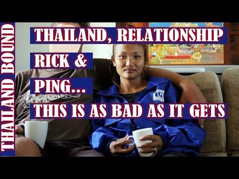 PATTAYA, THAILAND, RICK & PING'S RELATIONSHIP