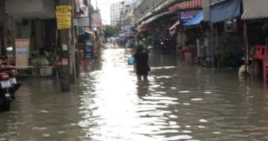 Floating Pattaya 7.7.20 soi Buakhao 3pm Hochwasser Thailand Deutsch bayrisch Change on the present time aktuell