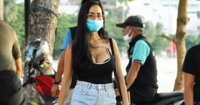 Pattaya Seaside Lunge in July, Thailand, 2020