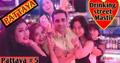 Drinking Avenue of Pattaya |Travelling Mantra