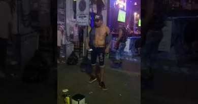 Aspect street Magic expose at Pattaya walking avenue Thailand
