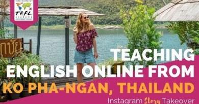 Day in the Life Instructing English Online from Ko Pha-Ngan, Thailand with Amanda Kolbye
