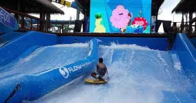 Sketch Network Amazone Waterpark Pattaya Thailand FlowRider Pro Tricks and Fails Surf Contest