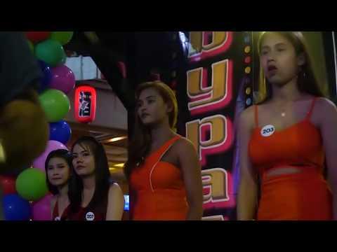 THAILAND NIGHTLIFE | Pattaya Strolling Twin carriageway Girls