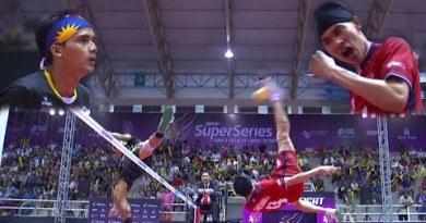 Sepak Takraw – Thailand VS Malaysia ! Closing Match !
