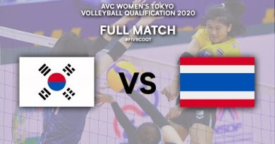 KOR vs. THA – Elephantine Match | AVC Girls folk's Tokyo Volleyball Qualification 2020