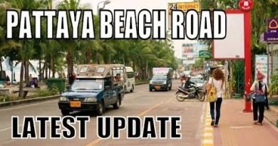 PATTAYA BEACH ROAD THAILAND LATEST UP DATE. 2018