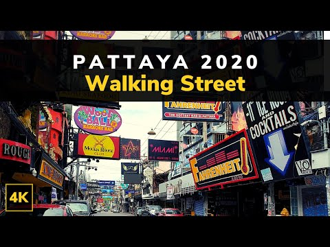 Gentle Stroll and Compare Round Pattaya Thailand | Pattaya Walking Avenue 2020 Day inch! 4K 60fps