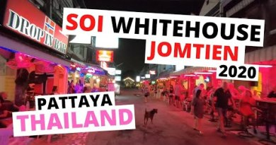 Soi WHITEHOUSE Jomtien 2020 PATTAYA hour of darkness bars Thailand