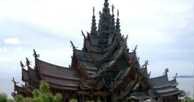 Sanctuary Of Truth Pattaya Thailand, Amazing Piece Of Artwork
