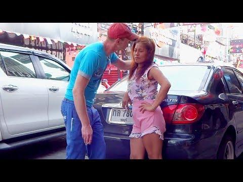 🔥AZIATKA BEST EPISODES #3 | Pattaya Walking Boulevard daylight scene