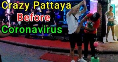 Loopy Pattaya City Earlier than Coronavirus | Thailand |