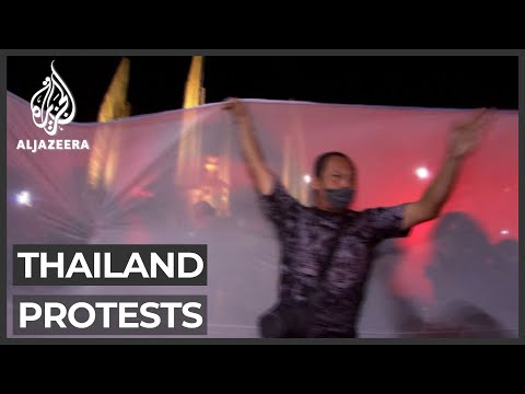 Thailand protests heat up as economy worsens amid pandemic