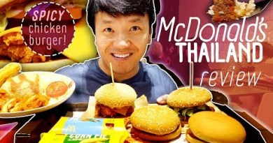 Attempting THAILAND MCDONALDS Food Overview