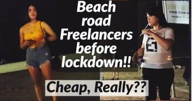 Pattaya Coastline Boulevard Freelancers Earlier than Coronavirus Lockdown!! Cheap.. Indubitably??