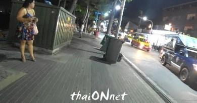 #Pattaya – Seaside Avenue – Freelancer girls waiting for Customers – #74