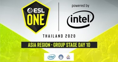 [Thai] ESL One Thailand 2020 – Asia Group Stage Day 10
