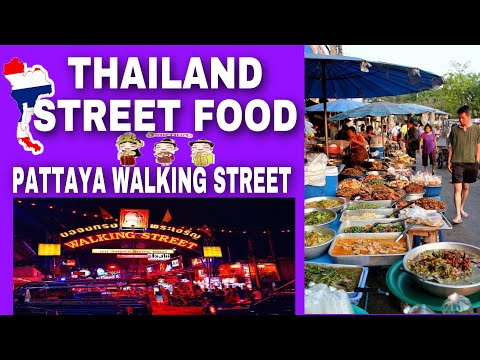 Thailand Boulevard meals ( Pattaya strolling avenue )