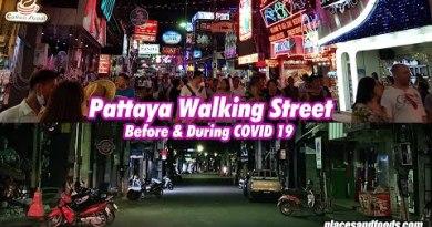 Pattaya Walking Aspect dual carriageway Earlier than and Throughout COVID 19