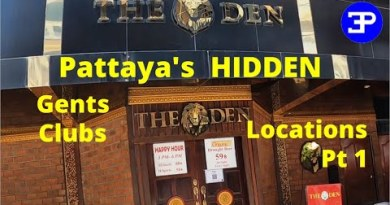 Pattaya's Hidden Gentleman's Drinking Clubs,   Locations Pt 1