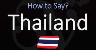 How one can Express Thailand? ? (CORRECTLY)
